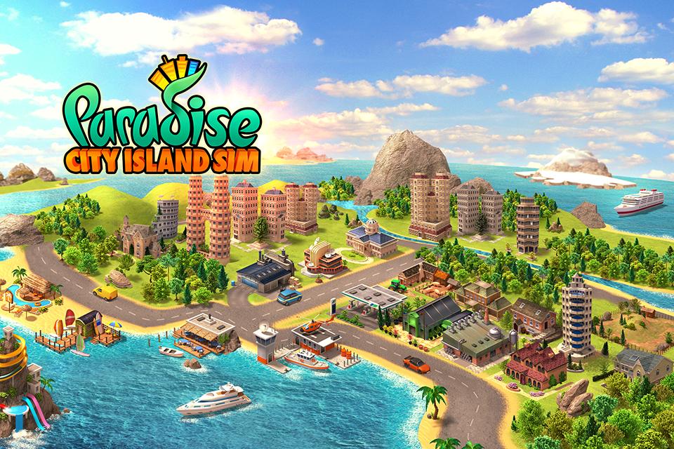 Paradise City – Island Sim