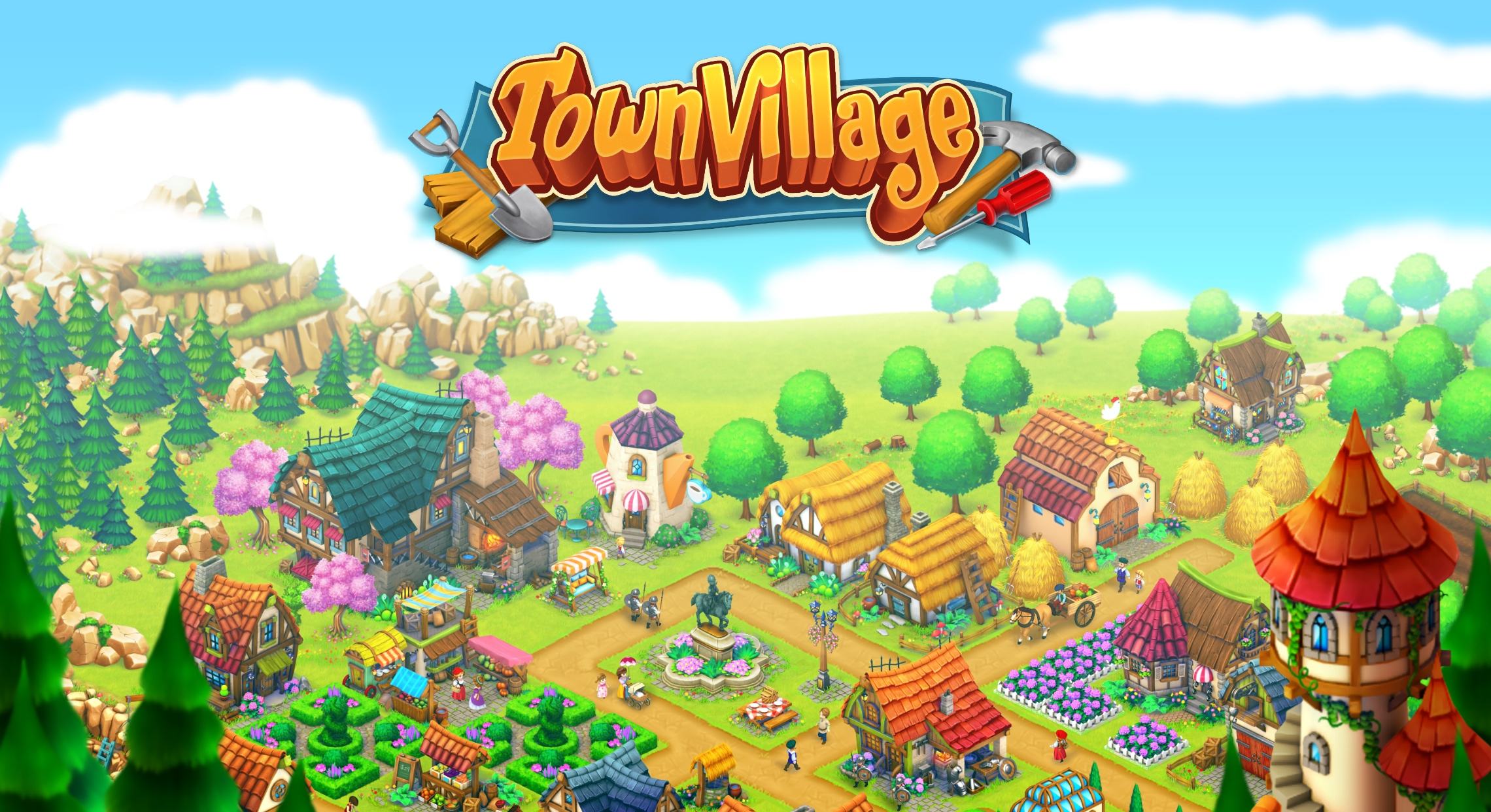 TownVillage: Farm, Build, Trade!