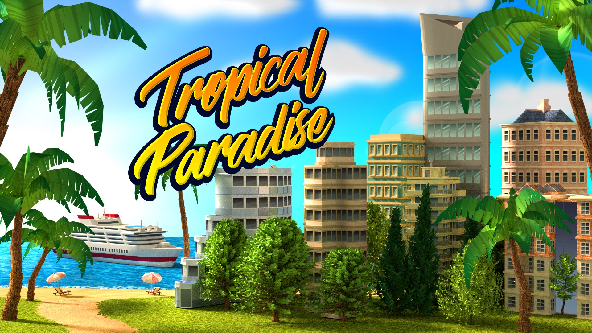 Tropical Paradise: Town Island – City Building Sim