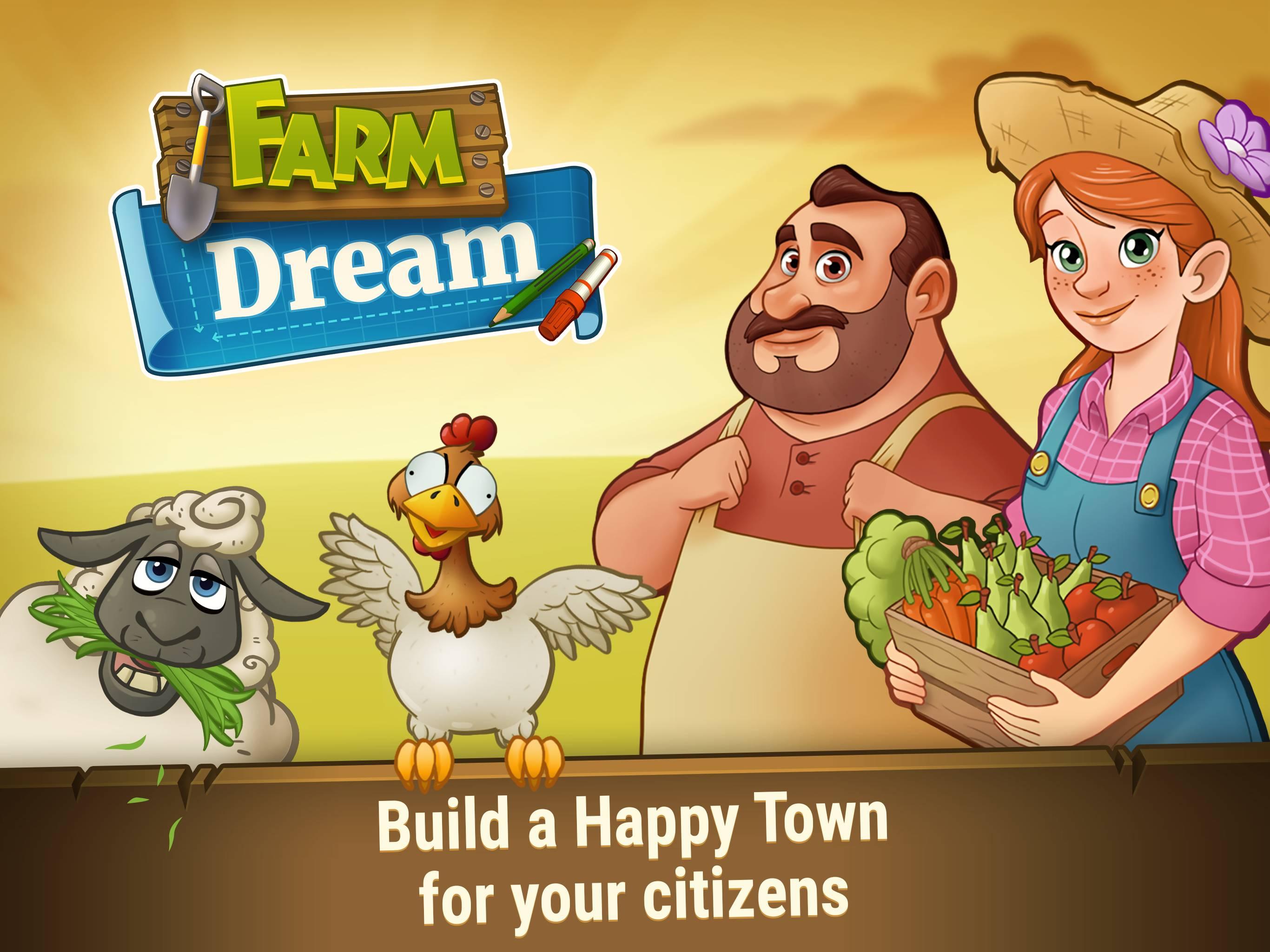 Farm Dream: Harvest your Town on Farming Day